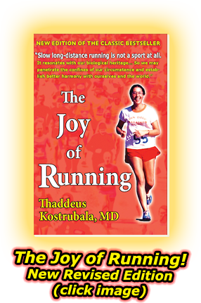 The Joy of Running! New Revised Edition - Click Image